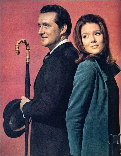 avengers_mr steed emma peel
