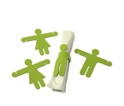 fuz napkin hugs green