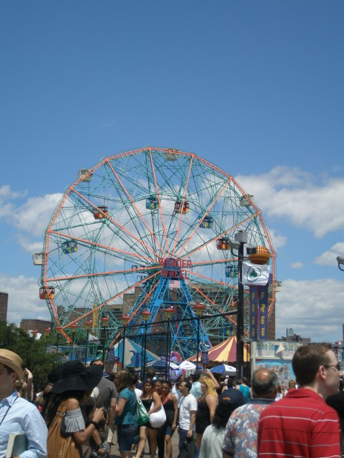 coney wonder wheel 2
