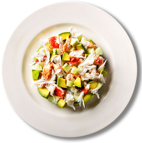 salad_crab avacado