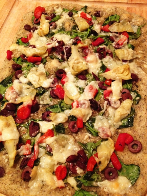 Really delicious easy pizza to make. Either use your own pizza dough ...