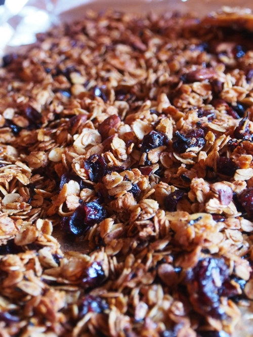 Tea Infused Granola